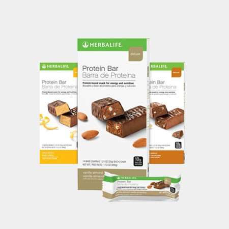 Herbalife Protein Bars (14 bars)