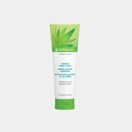Herbal Aloe Hand & Body Wash 250ml