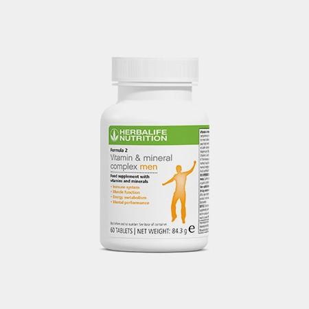 Formula 2 - Vitamin & Mineral | MEN